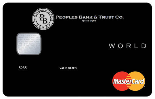 Business credit card peoples bank trust co business card preferred points rewards reheart Images